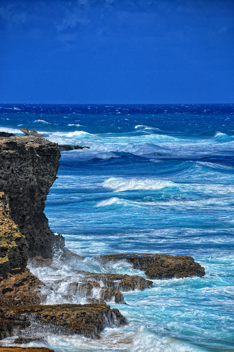 Barbados blue waters