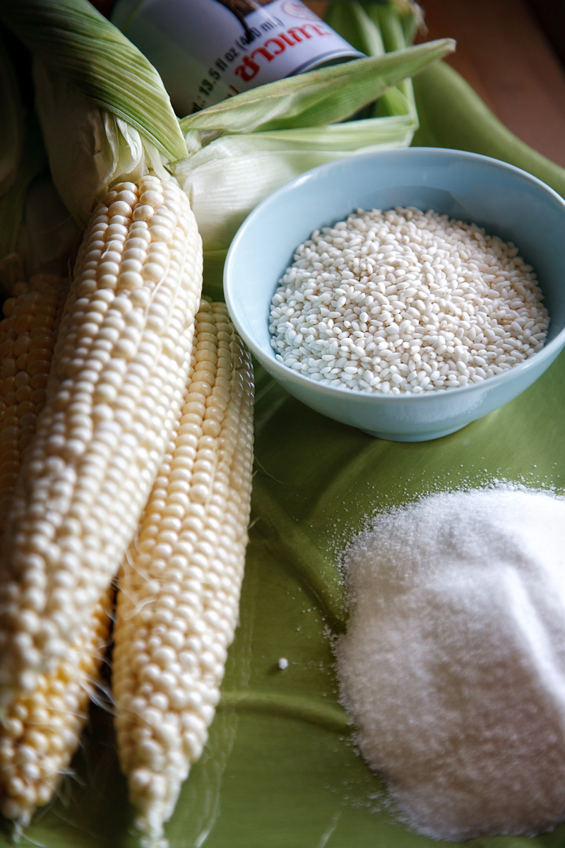 ivoryhut Kulinarya corn with coconut milk